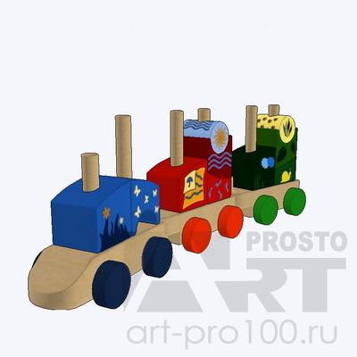 3d игрушки pro100