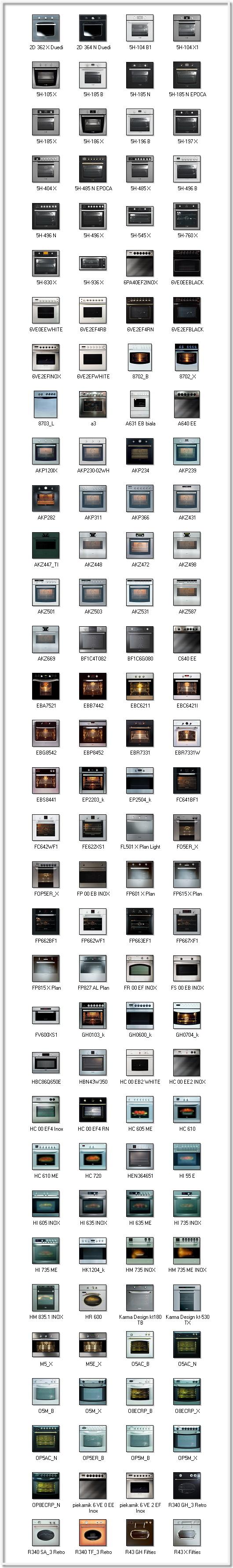 духовки