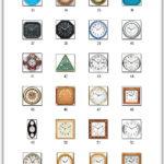 архив Клипарты: Двери, Розетки, Часы