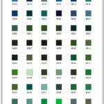 архив Уницвет: Цвета RAL, WCP, Пастель, Цветное, Полутон